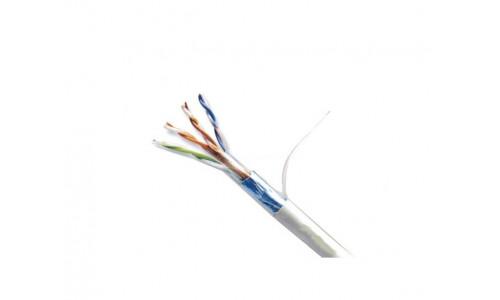 Кабель ATcom Standart FTP cat.5e CCA (биметалл) 4 пары 0,50 мм, внутренний, PVC, 305 м (3801)