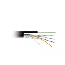 Кабель ATcom FTP cat.5e CCA 4 пары 0,5 мм, наружный, PVC+PVE, трос 1,2 305 м Standart (13760)