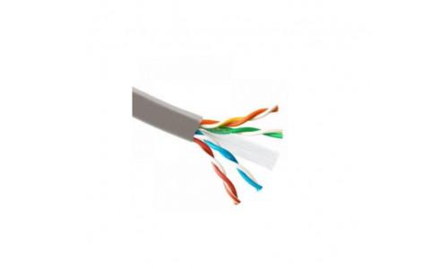 Кабель ATcom FTP cat.6 CCA 4 пары 0,51 мм, внутренний, PVC, 305 м 1Gb/s Standart (60510)