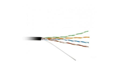 Кабель ATcom Standard FTP cat.5e CCA (биметалл) 4 пары 0,5 мм, наружный, PVC+PVE, 305 м (20799)