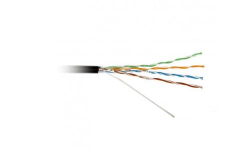 Кабель ATcom UTP cat.6 CU 4 пары 0,51 мм, наружный, PVC+PVE, 305 м 1Gb/s Premium (10888)