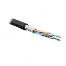 Кабель ATcom UTP cat.5e CCA 4 пары 0,5 мм, наружный, PVC+PVE, 305 м Standart (10699)