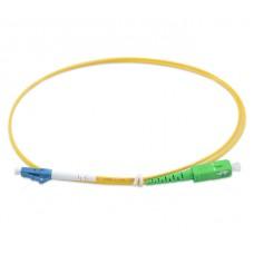 Внутренний оптический патч-корд 3м SC/APC LC/UPC