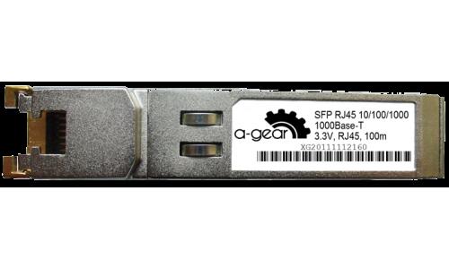 Модуль SFP A-GEAR WDM 100M  RJ45 10/100/1000